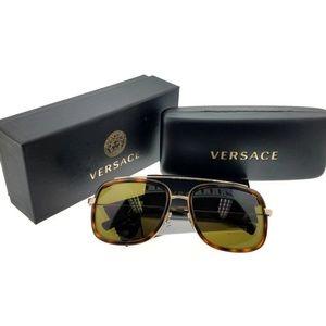 VE2173-139173 Women's Havana Frame Sunglasses